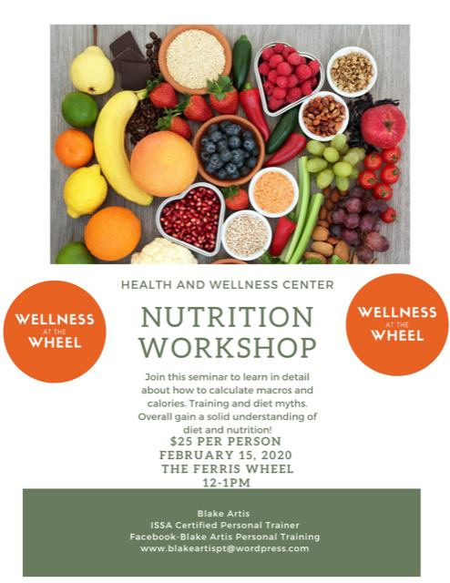 Nutrition Workshop